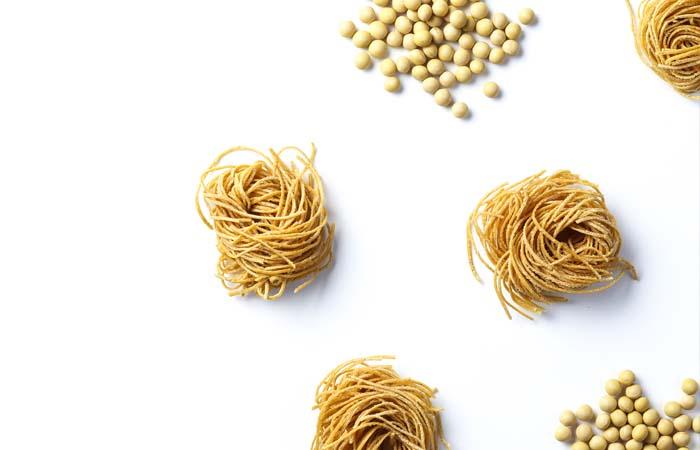 九州まーめんは、大豆100%です