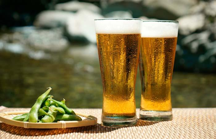醸造酒の代表ビールも糖質制限中はNG