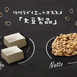ヘルシー低糖質食の代表、大豆製品