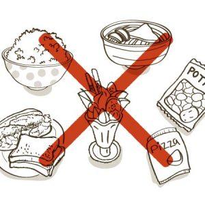 糖質を徹底的にカットしよう