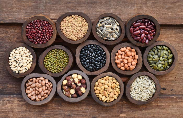 豆やナッツは、低GI食品