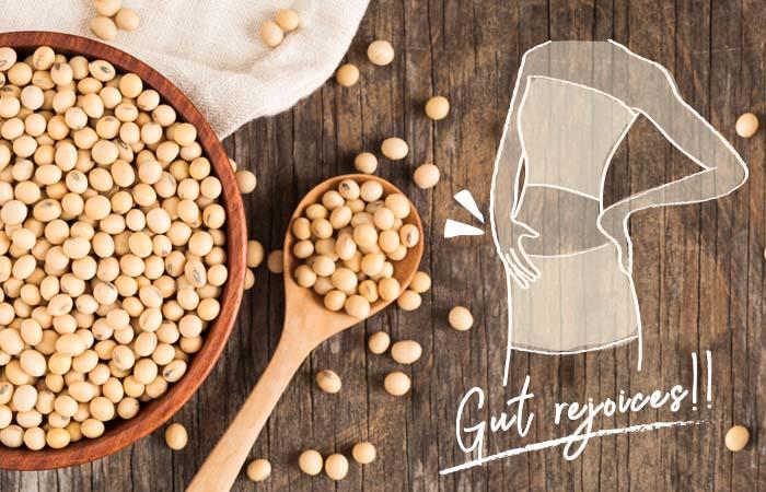 大豆は食物繊維たっぷり