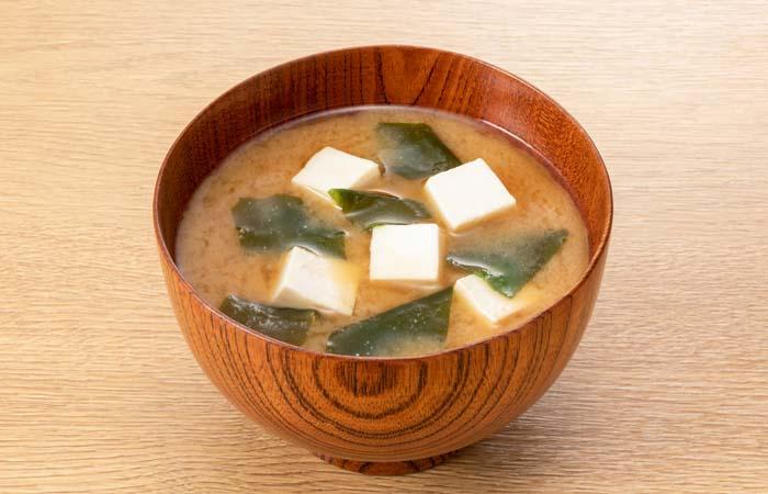 味噌汁の食物繊維