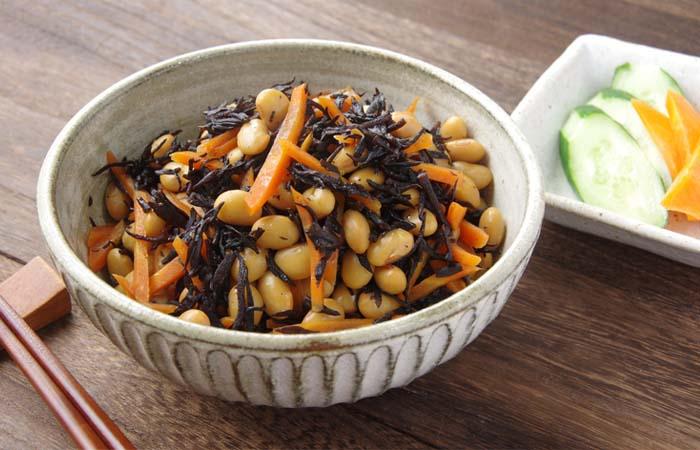 主食になる大豆料理