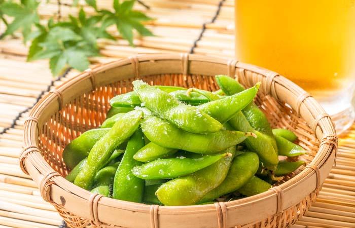 定番おつまみの枝豆