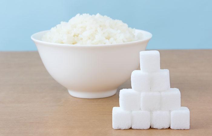 ご飯の糖質
