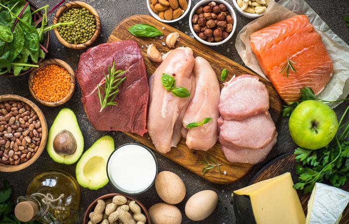 たんぱく質が多い食べ物